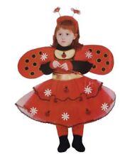 Vestito Costume Coccinella 3/4 anni Carnevale Pegasus Party Animale Animaletto