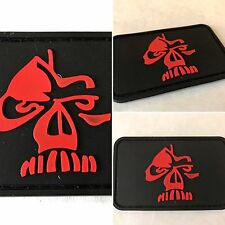 GORILLA SHADOW 3D SKULL IMPRINT MILITARY TACTICAL ARMY MORALE Hook/Lp PVC PATCH