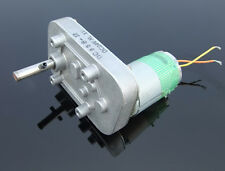 24V 20W Hand-cranked Generator Full Metal Gearbox 555 Speed Reduction Gear Motor