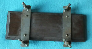 1940's flower press wood and metal