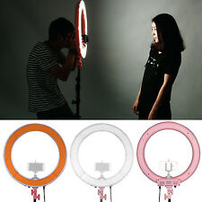 """Neewer 18"""" 55W 240pcs LED SMD 5500K Dimmable Ring Video Light with 2 Filters"""