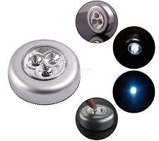 LED Touch Stick Up Light Bulbs Wireless Cabinet Closet Wall Battery Night Lights