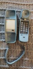 AT&T Trimline 210 Corded Home Phone - Blue Tested Push Button Dial, Good Cond.
