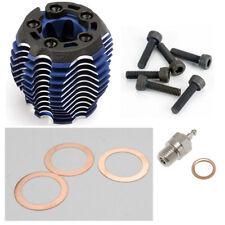 Traxxas Nitro 4-Tec 3.3 Engine *ALUMINUM COOLING HEAD, BLUE ANODIZED & GLOW PLUG