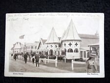 OLD PPC: BISLEY CAMP~THE PAVILLION~ANIMATED~ca 1910/20