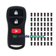 Lot of 50 New Replacement Keyless Entry Car Remote Key Fob Clicker For Kbrastu15