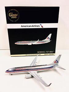 Gemini Jets 1:200 American Airlines BOEING 737-800 N921NN G2AAL769