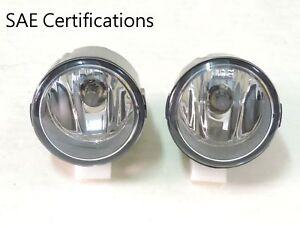 New Pair OEM Fog Lamp Assembly glass Lens For Infiniti EX35 FX35 G37 M37 FN1