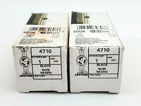 Lot of 2 Leviton 4710 L5-15R 15 Amp 125 Volt Twist Lock Single Receptacles