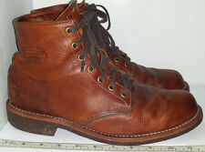 "Chippewa Men's Service 6"" Lace-Up Boot Round Toe 1901M26 US Size 10D Made in USA"