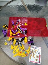 Bumblebee Construct Bots Transformer's lot used