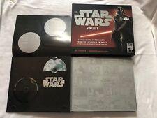 The Star Wars Vault - book of memorabilia including CDs - complete