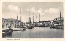 BARBADOS ~ HARBOR SCENE, WHARF & SHIPS, WEATHERHEAD PUB ~ c. 1904-14