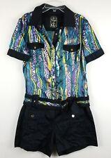 COOGI Womens Multicolor Designer Romper/Jumpsuit Sz 9/10