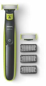 Philips OneBlade Rechargeable Wet and Dry Electric Shaver for Trim EXPRESS POST
