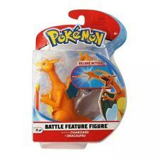 New Pokemon 4.5 Inch Battle Feature Figure Charizard Deluxe Action 95132  ✅