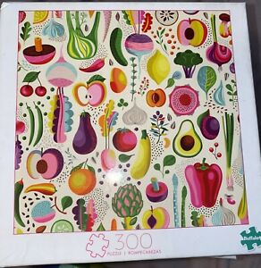 Buffalo Games - Fruits and Veggies - 300 Large Piece Jigsaw Puzzle