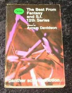 The Best From Fantasy and S.F. 12th series by avram Davidson