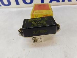 Alternator Voltage Regulator Bosch 30062 or 0192052004 with brushes