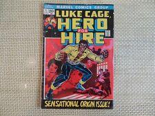 MARVEL LUKE CAGE, HERO FOR HIRE #1 JUNE 1972