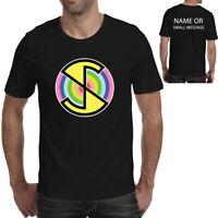 Captain Scarlet Spectrum inspired Mens T-shirt Custom Name Text