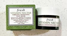 Fresh Vitamin Nectar Vibrancy-Boosting Face Mask - Travel Size 15ml