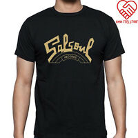 New Salsoul Records Logo Men's Black T-Shirt Size S to 3XL