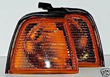 87-95 Audi 80 B3 B4 Corner Lights Turn Signals SET LEFT + RIGHT Yellow NEW