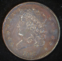 1835 Classic Head Half Cent, Almost Uncirculated Condition, Cohen 2 Var., C4719