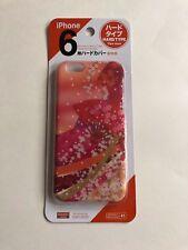 Daiso Japan iPhone 6/6s Japanese Flower Orange Hard iPhone Case