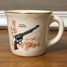 The Colt Peacemaker Mug Cup Cowboy Western Gun Vintage Coffee Tea USA Made