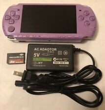HANNAH MONTANA PURPLE PSP 3000 3001 System w/ Charger & Memory Card Bundle
