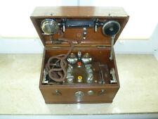 Vieux Téléphone Um 1920 Bien Suède Telefonapparat