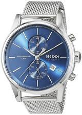 Hugo Boss Original 1513441 Men's Jet Silver Stainless Steel Mesh Watch 41 MM