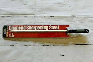"AccuSharp 14"" Knife Sharpening Rod Diamond Steel for Scissors Tools Blades NEW"