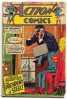 Action Comics 371 DC 1968 VG Superman Supergirl Batman Flash Green Lantern
