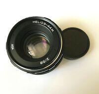 Helios 44M LENS f2/58mm mount M42 USSR  for Canon, Nikon, Sony Zenit Praktica