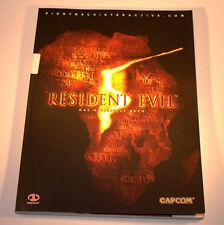 Resident Evil 5 - Das offizielle Lösungsbuch, Neu