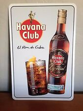 """Havana Club Ron Lover's Metal Sign 12"""" x 18"""""""