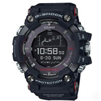 G-SHOCK RANGEMAN GPS Navigatioin Solar Bluetooth Black Watch GShock GPR-B1000-1