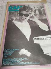 I'M TALKING - RAM -OZ MUSIC MAG -1985-#264- STING / COPELAND -EASTERN DARK-STEMS