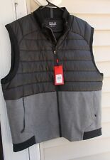 SALE! NWT POLO SPORT RALPH LAUREN Vest Coat Men's XXL Black/Grey NEW $165
