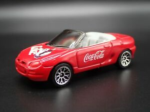 MG Mgf 1.8I Convertible Coke 1:64 Echelle Collection Diorama Voiture Miniature