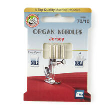 Organ Jersey Size 70 Domestic Sewing Machine Needles (130BP-70-ECO5OR)