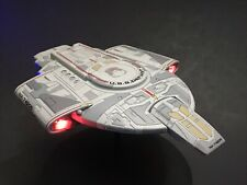 PRO BUILT 1/1000 USS Defiant NX 74205 With FULL LIGHTING Prop Replica Star Trek