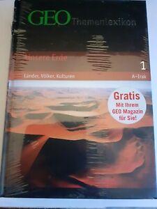 GEO Themenlexikon - Unsere Erde - Länder, Völker Kulturen (neu)