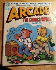 ARCADE THE COMICS REVUE NO.6 Vol.1. 1976 R.CRUMB,S.CLAY WILSON. THE PRINT MINT