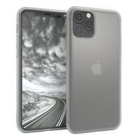 Für Apple iPhone 11 Pro Hülle Case Silikon Cover Schutz Tasche Slim Matt Weiß