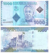 Tanzania 1000 Shillings 2010 P-41 Banknotes UNC