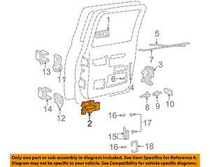 GM OEM-Interior Inside Door Handle Left 15708045